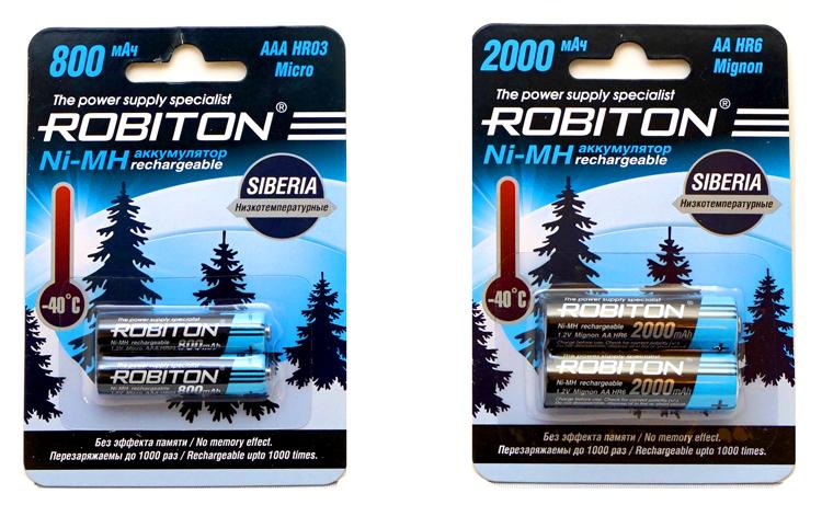 Низкотемпературные аккумуляторы Ni-MH