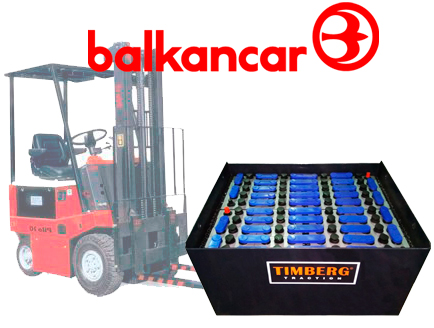 Тяговая батарея Timberg Traction 40х3PzS210 для электропогрузчика Balkancar EB-687