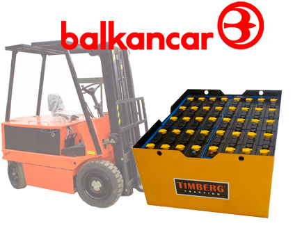 Тяговая батарея Timberg Traction 40x4PzS350 для электропогрузчика Balkancar EB-717