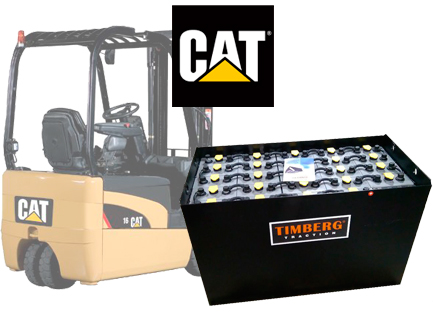 Тяговая батарея Timberg Traction 24х5PzS625 для электропогрузчика Caterpillar EP16NT
