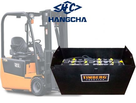 Тяговая батарея Timberg Traction 24х4PzS420 для электропогрузчика Hangcha CPD15J