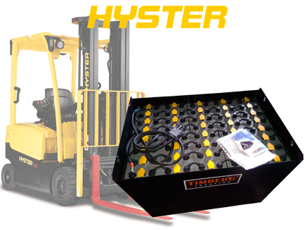 Тяговая батарея Timberg Traction 40х4PzS560 для электропогрузчика Hyster 2.5ACX
