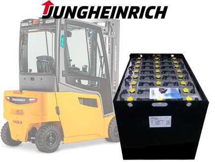 Тяговая батарея Timberg Traction 24х6PzS750 для электропогрузчика Jungheinrich EFG316