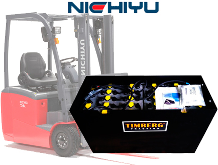 Тяговая батарея Timberg Traction 24x4PzS420 для электропогрузчика Nichiyu FBT15