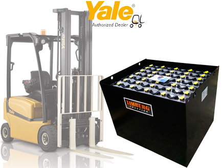 Тяговая батарея Timberg Traction 40x5PzS700 для электропогрузчика Yale ERP20ALF