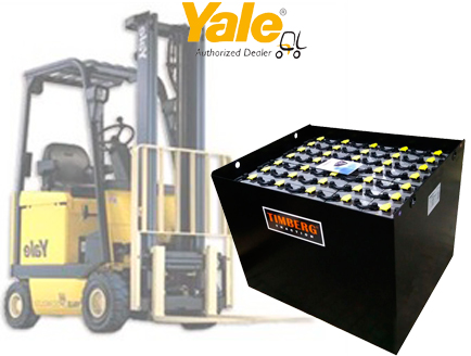 Тяговая батарея Timberg Traction 40x5PzS700 для электропогрузчика Yale ERP25ALF