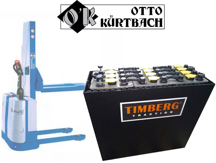 Тяговая батарея Timberg Traction 12x2PzS250 для Otto Kurtbach
