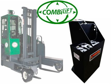 Тяговая батарея Timberg Traction 36х5PzS700 для погрузчика Combilift C3500