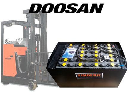 Тяговая батарея Timberg Traction 24х4PzS460 для ричтрака Doosan BR15J