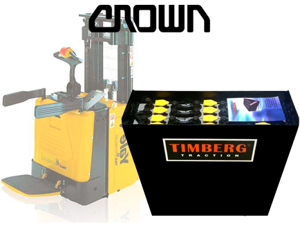 Тяговая батарея Timberg Traction 12х2PzS230 для штабелера CROWN MS15X