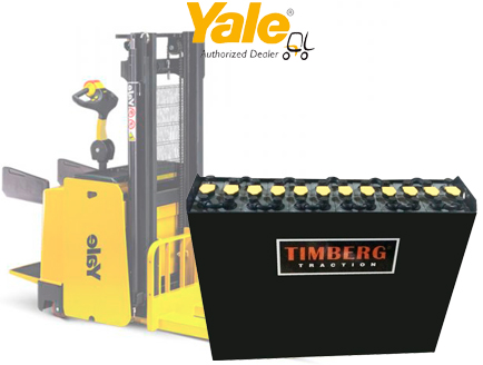 Тяговая батарея Timberg Traction 12x3PzS375 для штабелера Yale MS15X