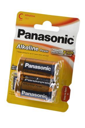 Panasonic Alkaline Power LR14APB/2BP LR14 BL2