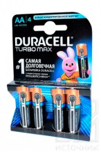 DURACELL  TURBO MAX LR6 BL4 NEW