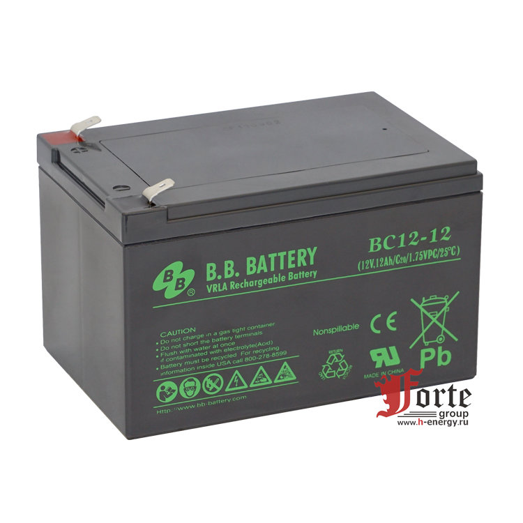 BB Battery BC12-12