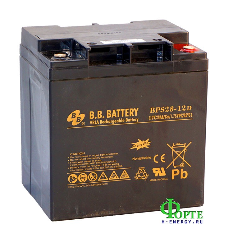 BB Battery BPS28-12D
