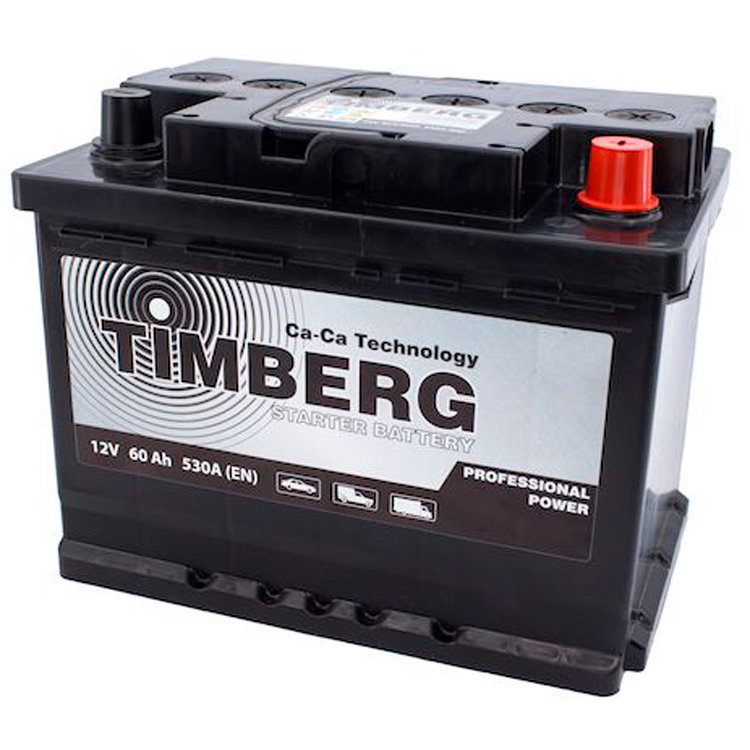 6СТ-60VL Timberg Professional Power 60Ah R 530A