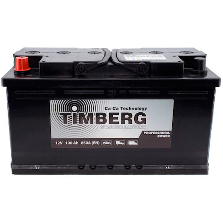 6СТ-100VL Timberg Professional Power 100Ah L 850A