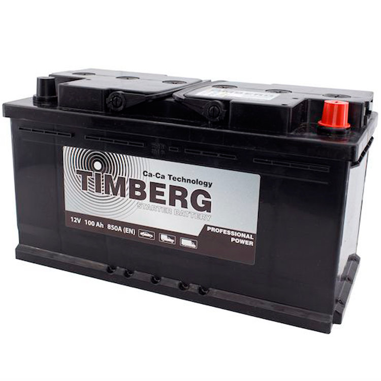 6СТ-100VL Timberg Professional Power 100Ah R 850A