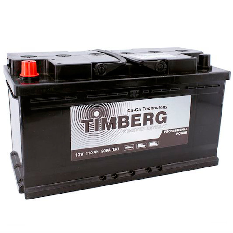 6СТ-110VL Timberg Professional Power 110Ah L 900A