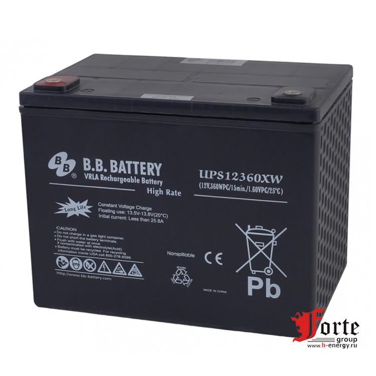 BB Battery UPS12360XW