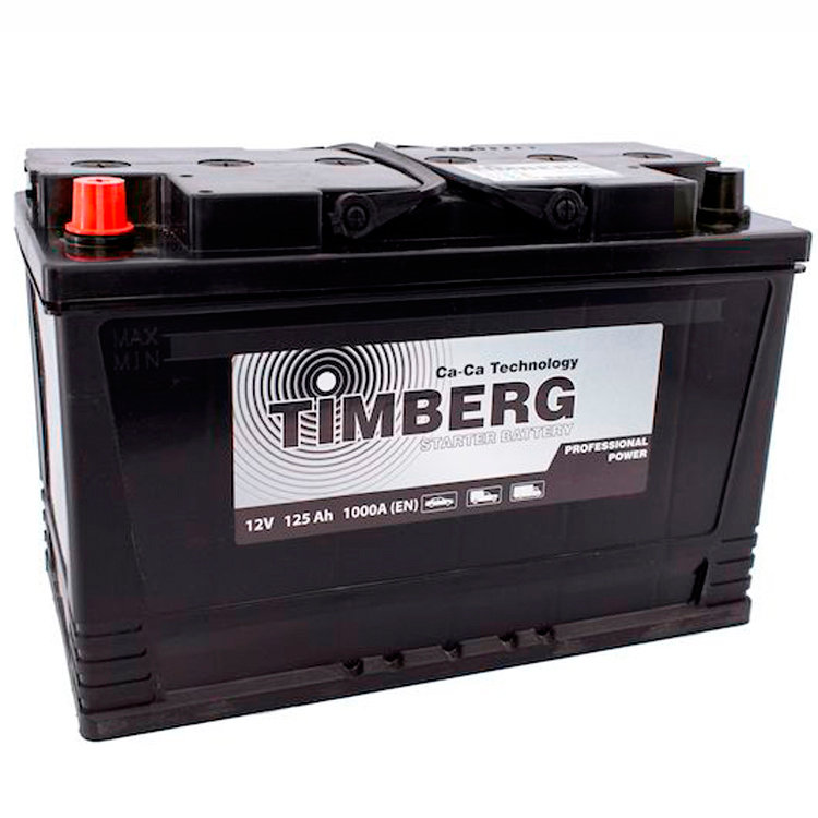 6СТ-125VL Timberg Professional Power 125Ah L 1000A