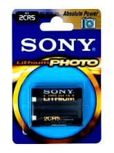 SONY  Lithium PHOTO 2CR5-B1A 2CR5 BL1
