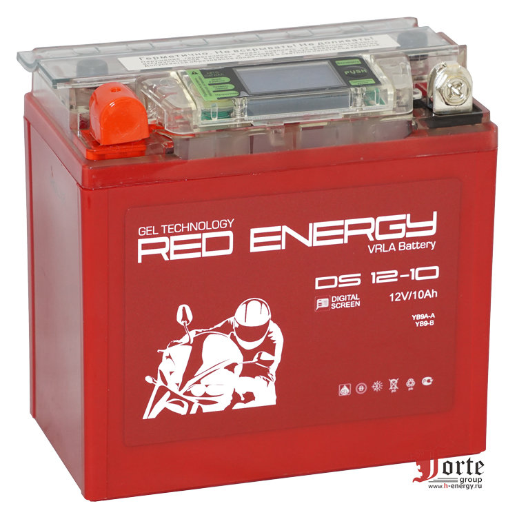 мотоаккумулятор Red Energy (RE) DS 12-10 GEL