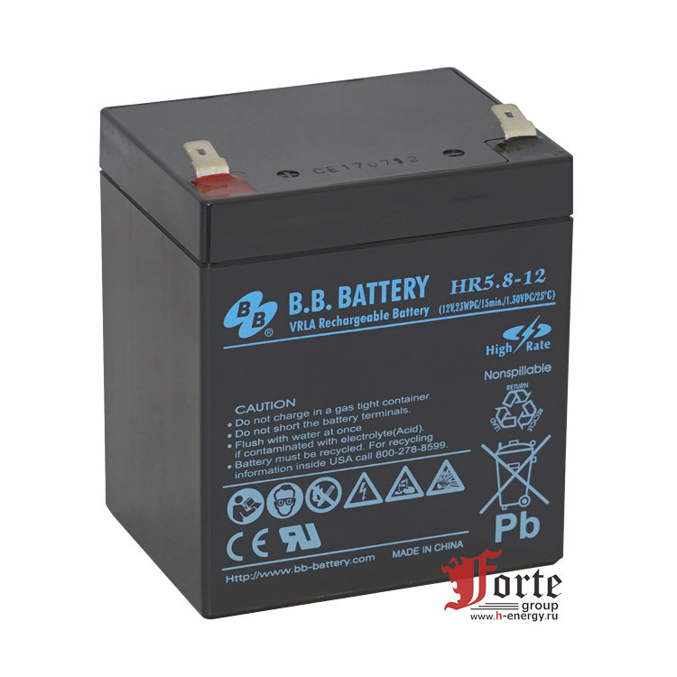 BB Battery HR5.8-12