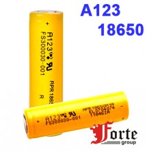 A123  SYSTEMS APR18650M1A 1100mAh