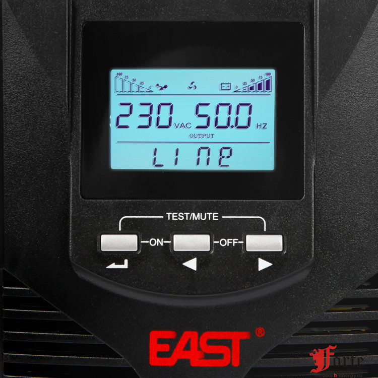 East Power EA900Pro-H 2kVa - дисплей