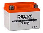 Аккумулятор для скутера Delta CT1204