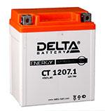 Аккумулятор для скутера Delta CT1207.1