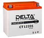 Аккумулятор для скутеров Delta CT12201